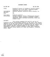 ERIC - ERIC ED086080: Freedom of Access or Freedom of Choice? Student Financial Aid in the South. Financing Higher Education, N25 in a Series, 1973.